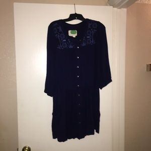 Anthropologie Tunic Dress Size: 12